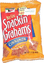 Keebler Bite Size Snackin' Grahams Cinnamon