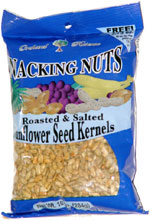 Snacking Nuts Roasted and Salted Sunflower Seed Kernels
