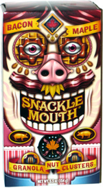 Snackle Mouth Granola Nut Clusters Bacon Maple