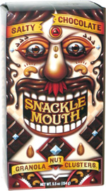 Snackle Mouth Salty Chocolate Granola Nut Clusters
