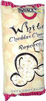 Snack's White Cheddar Cheese Flavored Popcorn