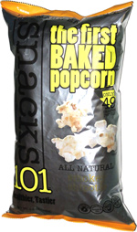 Snacks 101 The First Baked Popcorn Smokey Chipotle