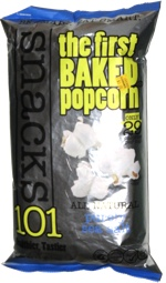 Snacks 101 The First Baked Popcorn Purely Sea Salt