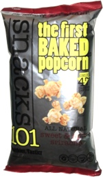 Snacks 101 The First Baked Popcorn Sweet & Spicy Sriracha
