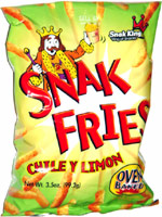 Snak Fries Chile Y Limon