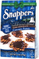 Snappers Dark Chocolate Caramel Fudge