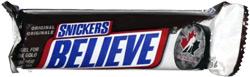 Snickers Believe