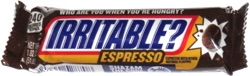 Snickers Irritable? Espresso