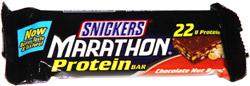 Snickers Marathon Protein Bar Chocolate Nut Burst