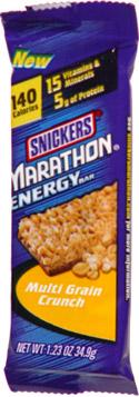 Snickers Marathon Energy Bar Multi Grain Crunch