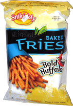 Snikiddy All Natural Baked Fries Bold Buffalo