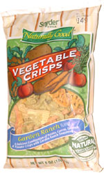 Snyder of Berlin Naturally Good Vegetable Crisps Garden Ranch