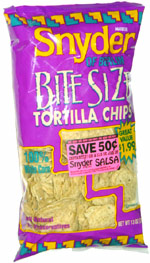 Snyder of Berlin Bite Size Tortilla Chips