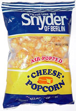 Snyder of Berlin Air Popped Cheese Popcorn