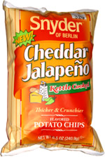 Snyder of Berlin Cheddar Jalapeno Kettle Cooked Potato Chips