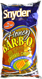 Snyder of Berlin Honey Bar-B-Q Potato Chips