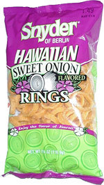 Snyder of Berlin Hawaiian Sweet Onion Rings