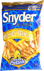 Snyder of Berlin Honey Wheat Pretzels