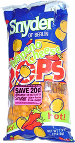Snyder of Berlin Jalape�o Cheese Pops