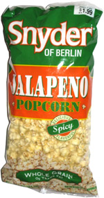 Snyder of Berlin Jalapeno Popcorn