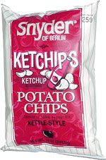 Snyder of Berlin Ketchips Kettle-Style Potato Chips