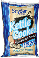 Snyder of Berlin Kettle Cooked Wavy Potato Chips