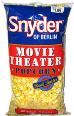Snyder of Berlin Movie Theater Popcorn