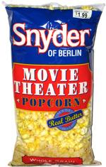 Snyder of Berlin Movie Theater Popcorn