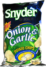 Snyder of Berlin Onion & Garlic Potato Chips