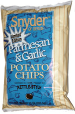 Snyder of Berlin Parmesan & Garlic Kettle-Style Potato Chips