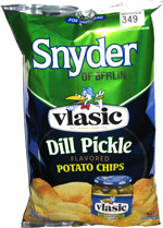Snyder of Berlin Vlasic Dill Pickle Potato Chips
