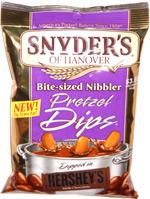 Snyder's of Hanover Bite-Size Nibbler Pretzel Dips
