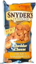 Snyder's of Hanover Cheddar Cheese Pretzel Sandwiches