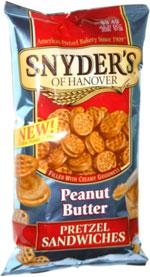 Snyder's of Hanover Peanut Butter Pretzel Sandwiches