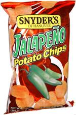 Snyder's of Hanover Jalapeno Potato Chips
