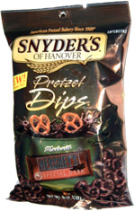 Snyder's of Hanover Pretzel Dips Made with Hershey's Special Dark