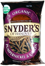 Snyder's of Hanover Organic Pumpernickel & Onion