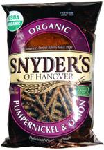 Snyder's of Hanover Organic Pumpernickel & Onion