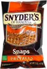 Snyder's of Hanover Snaps Pretzels