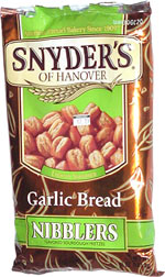 Snyder's of Hanover Garlic Bread Nibblers