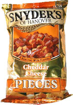Snyder's of Hanover Cheddar Cheese Pieces