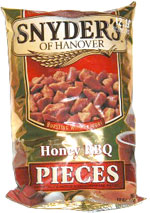 Snyder's of Hanover Honey BBQ Pieces