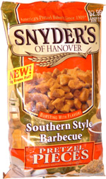 Snyder's of Hanover Southern Style Barbecue Pretzel Pieces