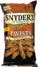 Snyder's of Hanover Braided Twists Multigrain