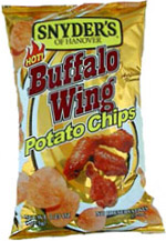 Snyder's of Hanover Hot Buffalo Wing Potato Chips