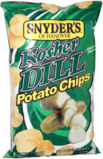 Snyder's of Hanover Kosher Dill Potato Chips