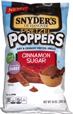 Snyder's of Hanover Pretzel Poppers Cinnamon Sugar