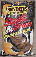 Snyder's of Hanover Steak & Onion Potato Chips
