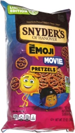 Snyder's of Hanover The Emoji Movie Pretzels