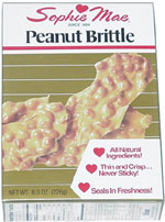 Sophie Mae Peanut Brittle